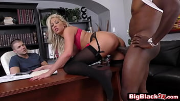 Blonde Who Is Fucked At The Office