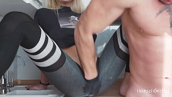 Hard Puts His Whole Hand In Her Pussy