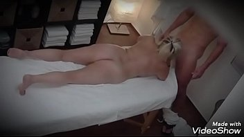Blonde Filmed At The Massage As She Sucks - Porn Movies